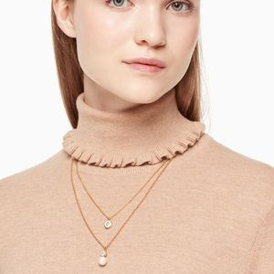 Kate Spade Pearly Delight Double Pendant